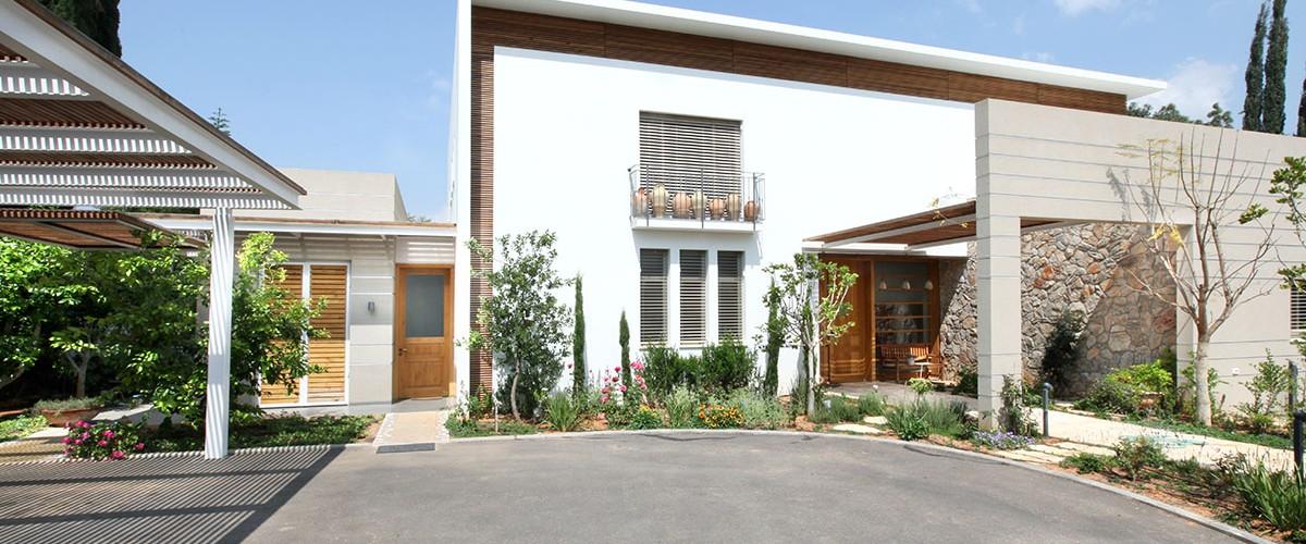 צילום אדריכלות בבית בסביון עבור הנגר HANAGAR