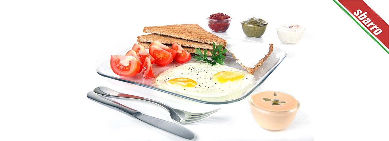 צילום מזון לתפריט - ארוחת בוקר במסעדת סברו