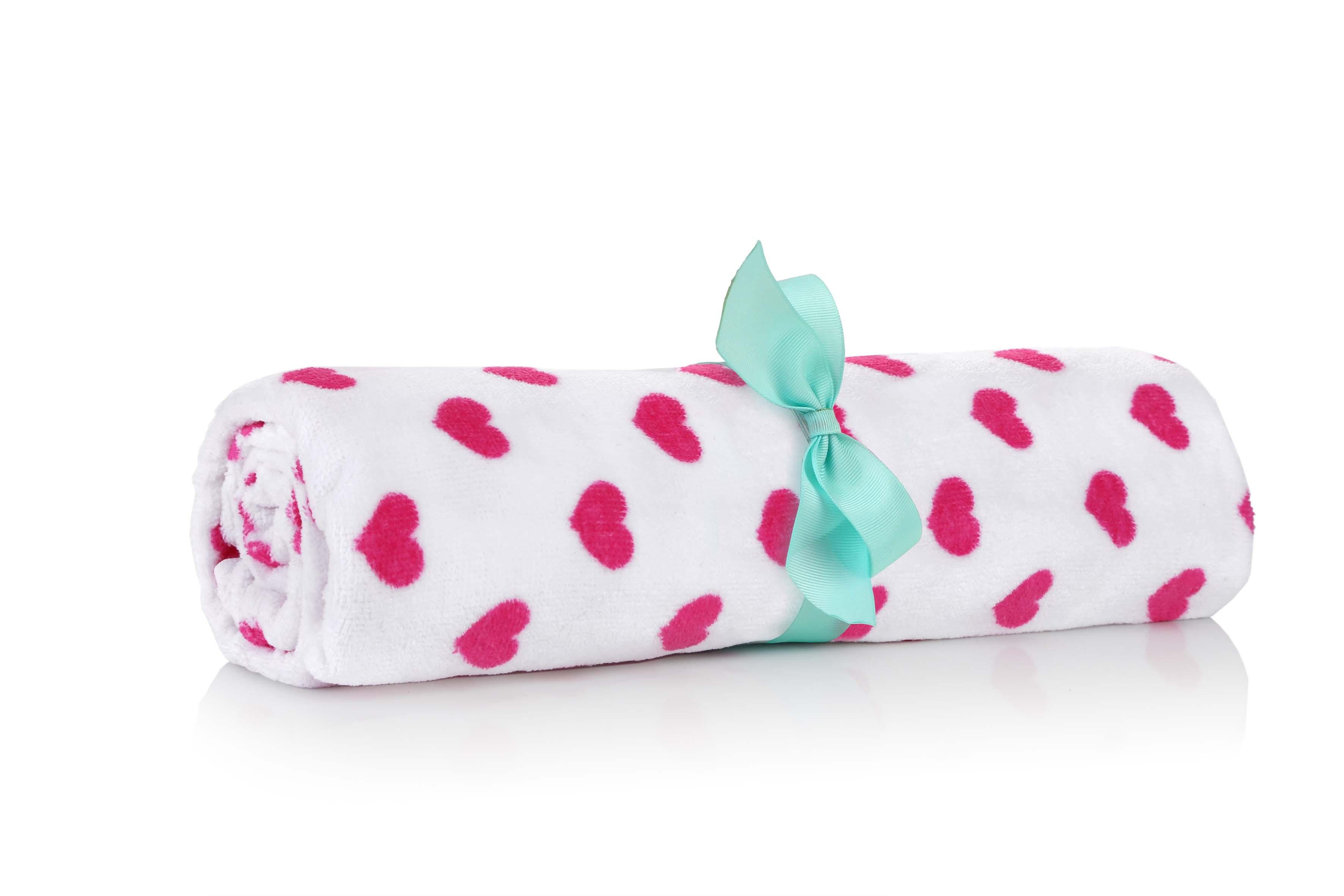 צילום מוצר - מגבת לבבות צולם עבור ללין
